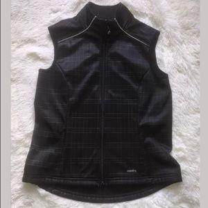 women's Kerrits full zip up vest sz M A1